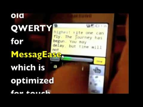 Text with speed and accuracy on Android or iPhone