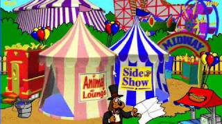 Billy's Retro Computer Games: Gus Goes to the Kooky Carnival (Part 1)