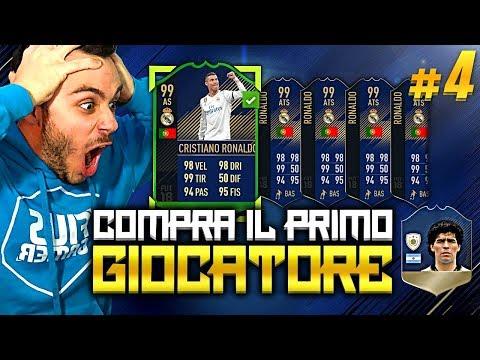 CRISTIANO RONALDOOOOOO!!! COMPRA IL PRIMO GIOCATORE MARADONA EDITION #4 FIFA 18 ITA