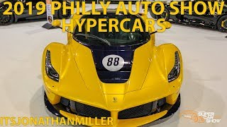 CF CHARITIES HYPERCARS (PAGANI, LA FERRARI, CHIRON & MORE) AT THE 2019 PHILLY AUTO SHOW