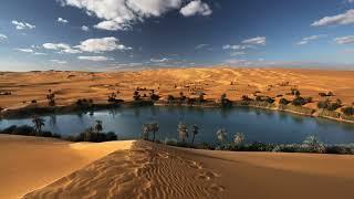 Картинка природа. Ливия, песок, пальмы, пустыня, оазис | Pikitia o te pikitia. Piripi, onepu, nikau