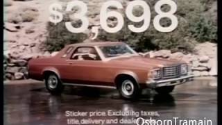 1975 Ford Granada Commercial   Introduction 2