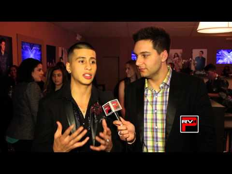 Carlito Olivero interview after X Factor Big Band Performance Night