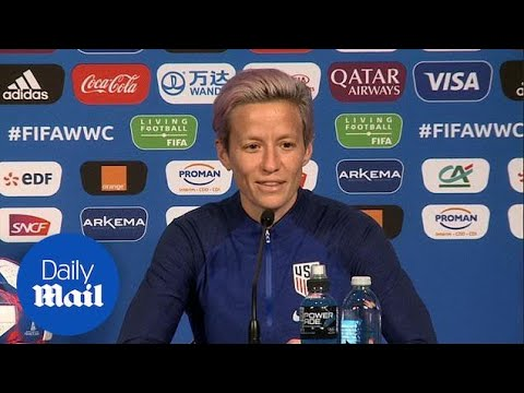 Soccer star Megan Rapinoe stands by her Trump comments
