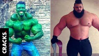 """Hulk"" Iraní vs. ""Hulk"" Brasileño tendrán una pelea de MMA, ¿Quién gana?"