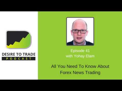 Desire To Trade Podcast 041: All You Need To Know About Forex News Trading - Yohay Elam