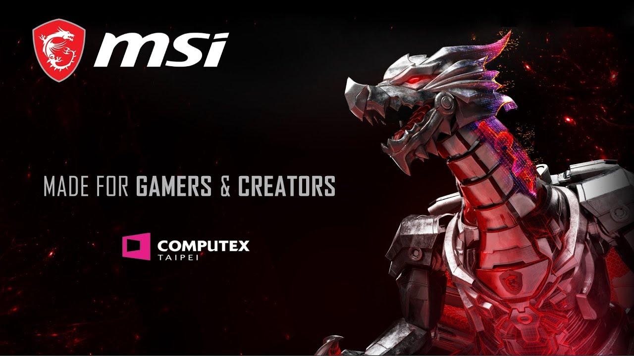 MSI X COMPUTEX 2019