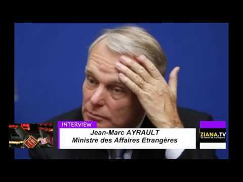 Jean-Marc Ayrault s'exprime sur la situation politique au Congo