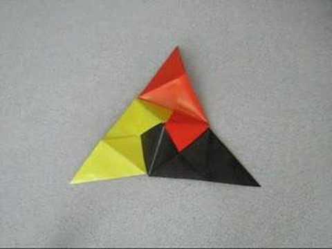 çokyüzlü (polyhedron) origami