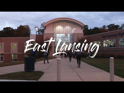 East Lansing High School Yearbook 2018-2019
