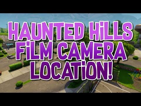Fortnite Haunted Hills Film Camera Location!!