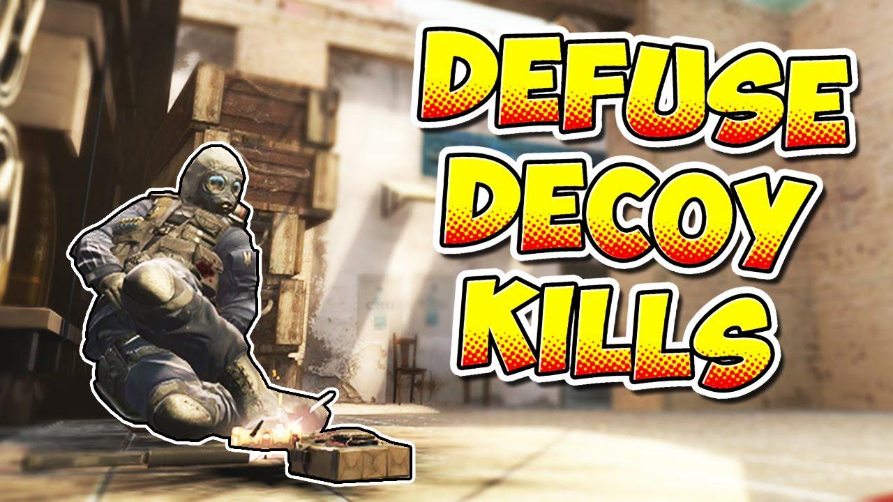CS:GO - Decoy Kills To Stop Bomb Defuse