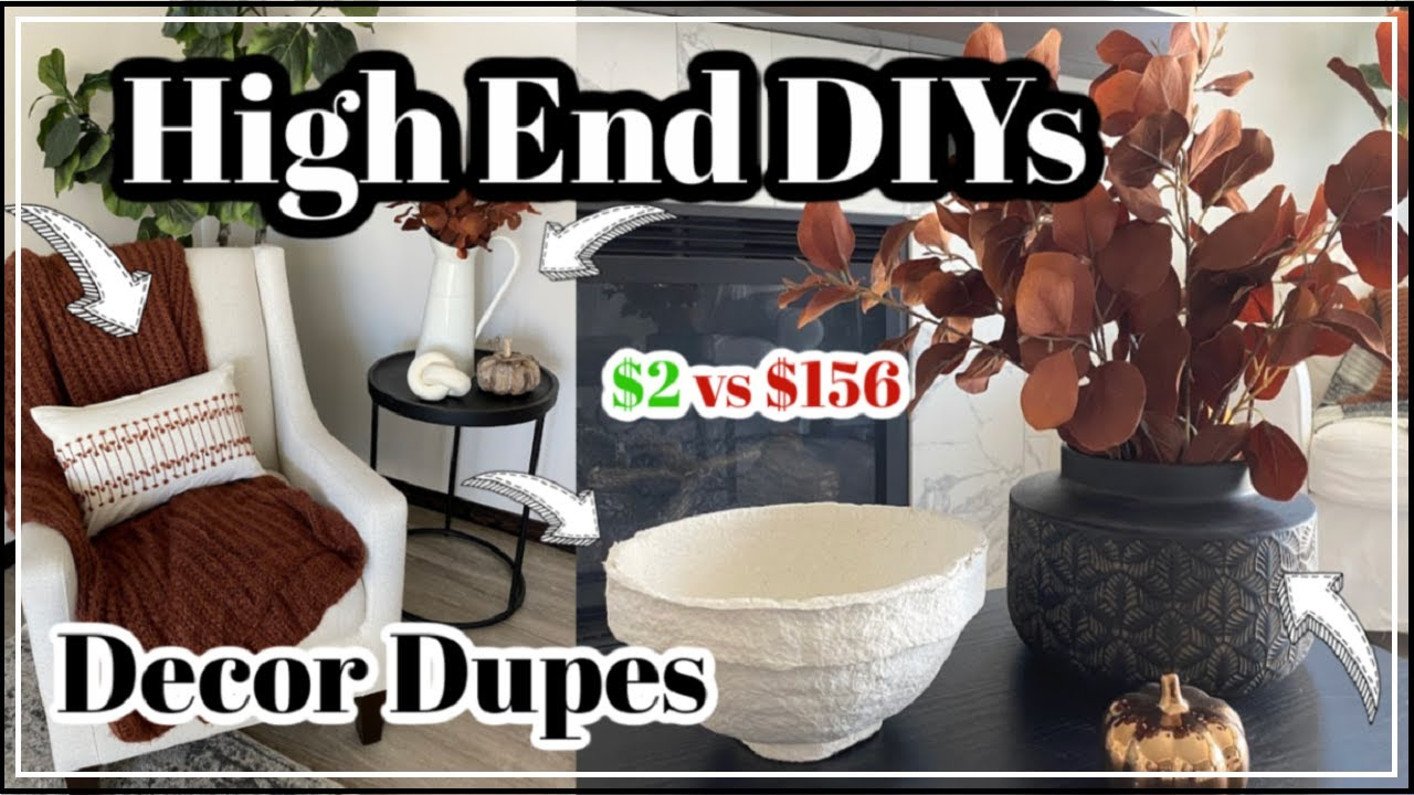 NEW* High End DIY Decor Dupes under $5 + Must Try Easy & Cheap DIY Projects | Momma From Scratch