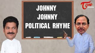 Johnny Johnny Political Rhyme | Funny Telugu Rhymes