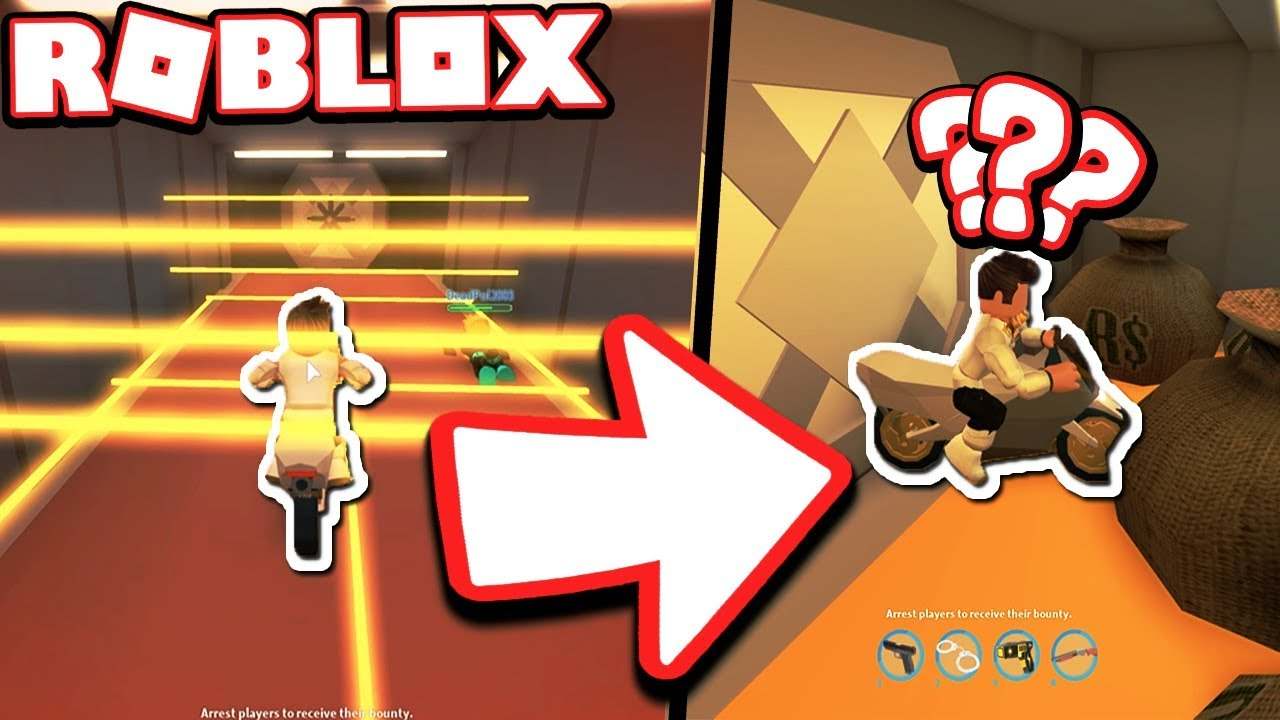 Trapped Inside The Bank With A Motorcycle Roblox - roblox jailbreak bank music