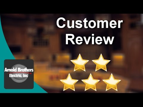 Top Electrical Service Company New Fairfield CT | Arnold Brothers Electric Reviews