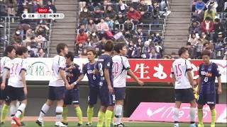 右CKからゴール前で山田 将之(FC東京)がヘディングシュート!FC東京が...