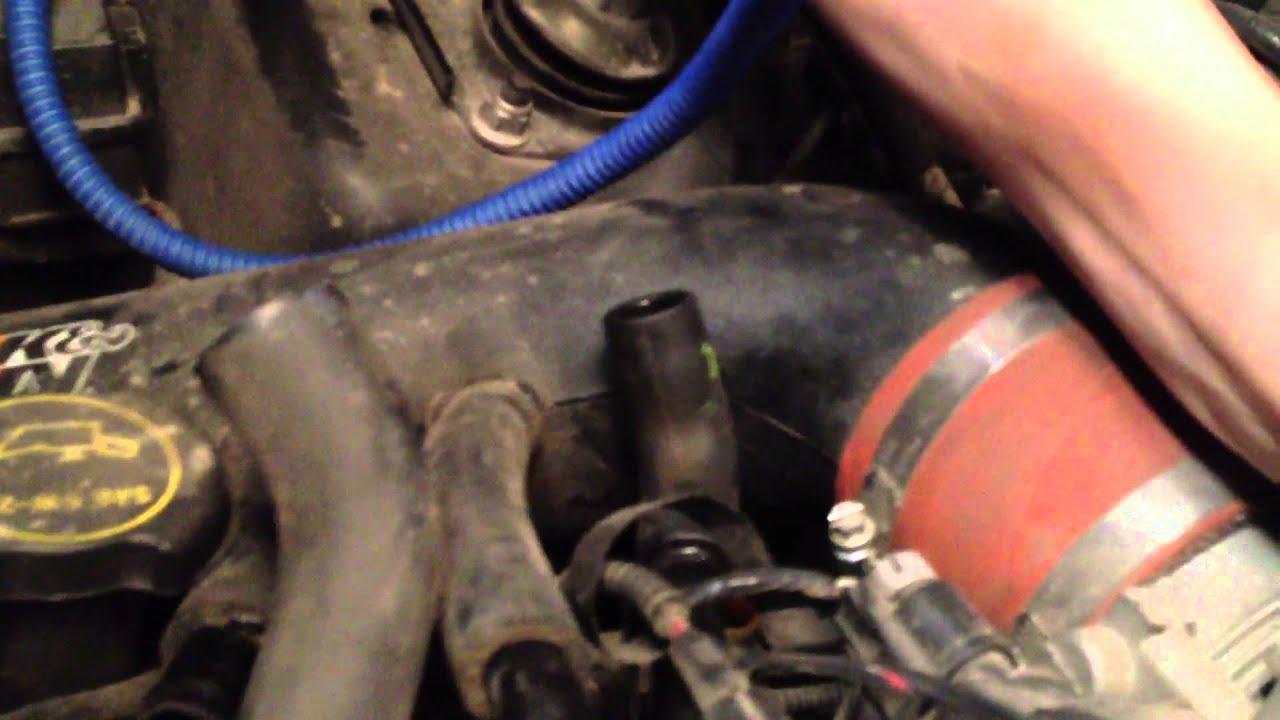 How To Find Car Engine Vacuum Leaks with A Hookah  Water