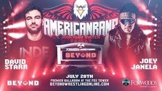 Joey Janela vs David Starr 60 Minute Ironman Match Highlights (Beyond Wrestling Americanrana 2019)