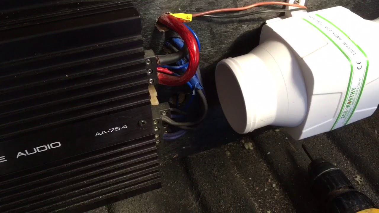 How To Keep Car Audio Amps Cool Reduce Heat Installing Cooling Wiring Fail Fans