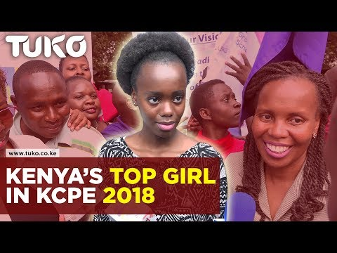 Kenya news: Top Girl in KCPE 2018 | Tuko TV