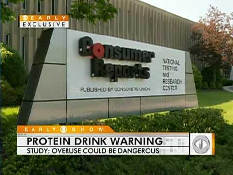 Protein Drink Dangers