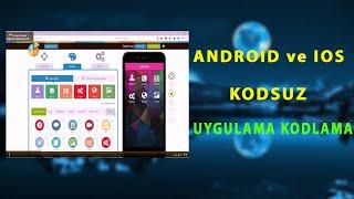 Android Uygulama Yapma (Kodsuz)