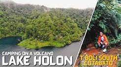 SOUTH COTABATO: LAKE HOLON | CAMPING ON A VOLCANO | Lost Juan