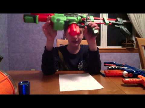 The best Nerf Assault Rifle (my oppinion)