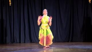 Divya Ramesh Bharatanatyam performance