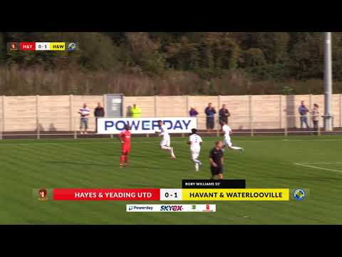 Hayes & Yeading v Havant & Waterlooville - 30th Sep 2017