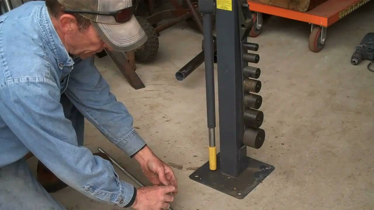 How To Bolt Tools To Your Shop Floor Without Falling Down