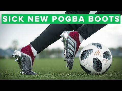 f3c54f54a7 adidas Predator 18+ Paul Pogba Play Test | new football boots for ...