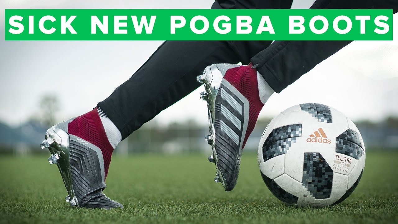 1abba5ae7 adidas Predator 18+ Paul Pogba Play Test | new football boots for Pogba