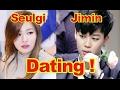 Dating rumors between BTS' Jimin and Red Velvet's Seulgi