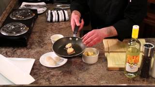 Parmesan-crusted & Pan-seared Scallops : Scallop Recipes