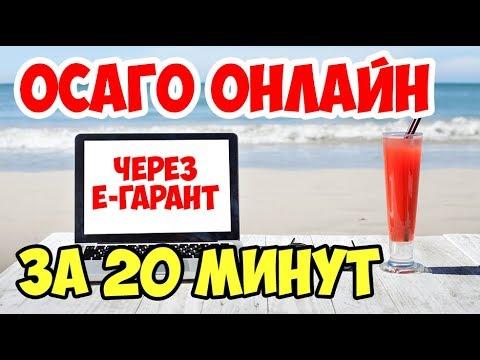 видео: оформить осаго за 20 минут