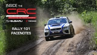 Inside CRC: Rally 101 - Pacenotes