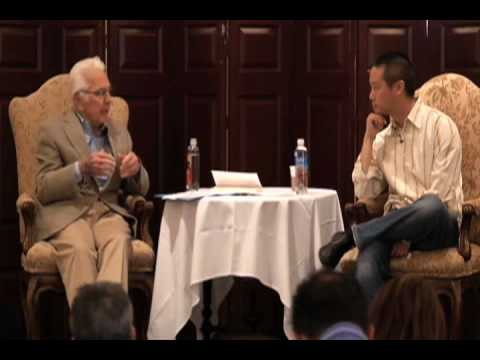 """Reunion 2010: Warren Bennis and Tony Hsieh, """"Leadership For the 21st Century""""."""