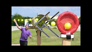 Reverse - Dude Perfect - Blitzball Trick Shots 3