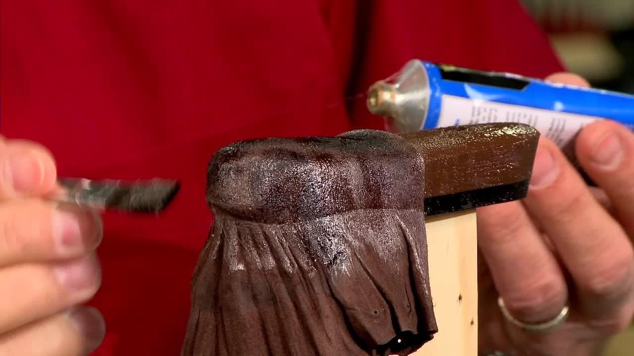 Gunsmithing - How to Make and Install a Leather Covered Recoil Pad