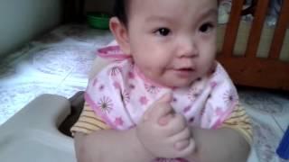 Ăn dặm kiểu Nhật bé Bảo Châu 9 tháng tuổi.mp4