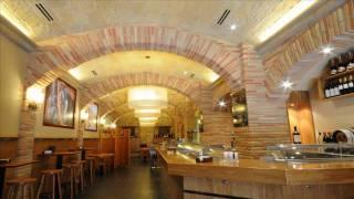 Rustic restaurant, bar design ideas.