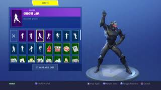 FORTNITE Omega Skin Showcased on All my Cosmetics! (Except for Gliders and Pickaxes)