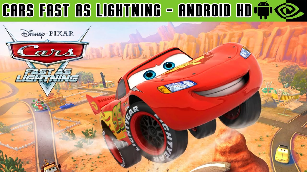 Cars Fast As Lightning Gameplay Nvidia Shield Tablet Android