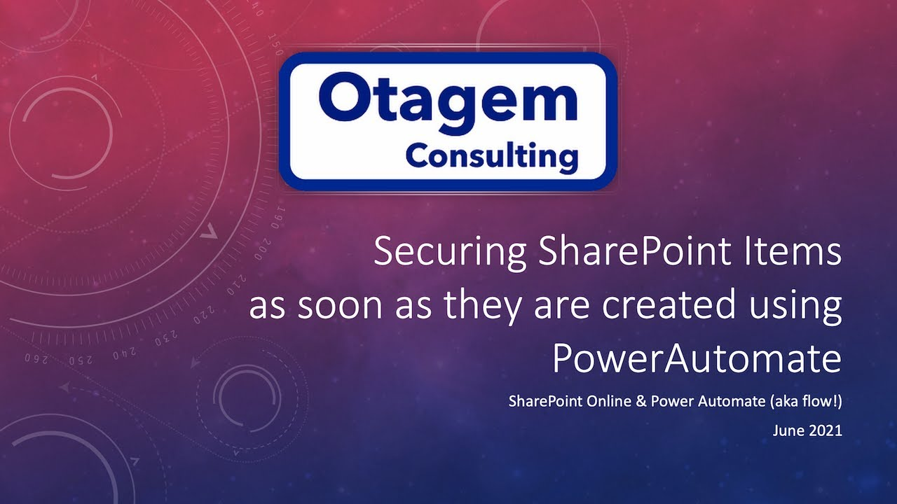 Locking down Security on Documents and List Items in SharePoint Online at the point of creation