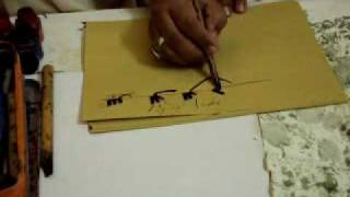 Calligraphy lacture seen by world famous calligraphest khurshidgohar qalam.mp4