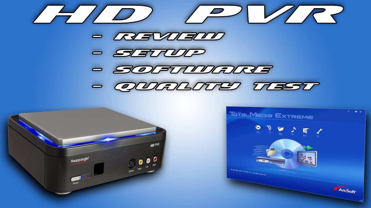 HD PVR QuickInstall Guide