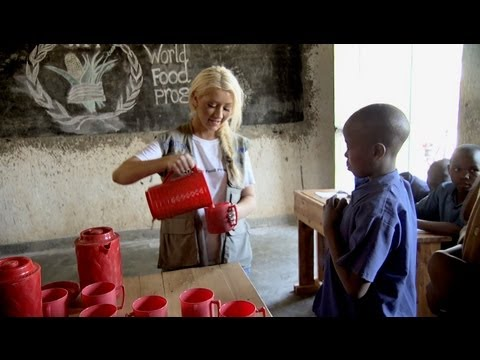 Christina Aguilera's World Hunger Relief Rwanda PSA 2013