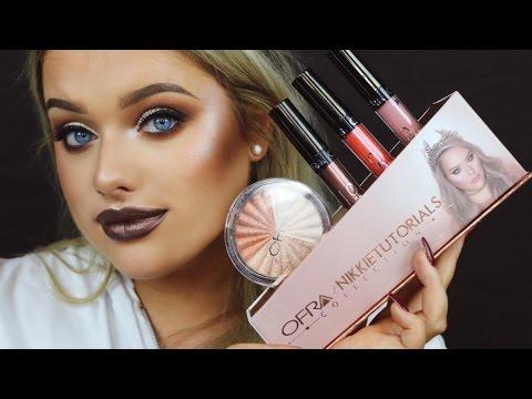 Nikkie Tutorials x Ofra Collab ● Brown Smokey eye & Matching Lip!   Rachel Leary